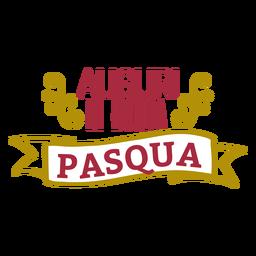 Letras de Auguri di buona pasqua
