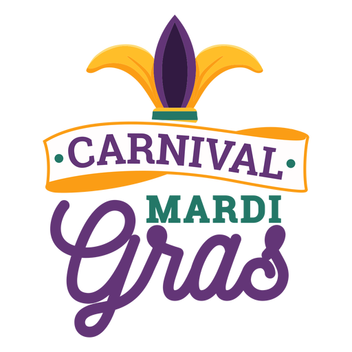 Karneval-Karneval-Spaßvogel-Hutbeschriftung Transparent PNG