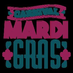 Karneval Karneval-Schriftzug