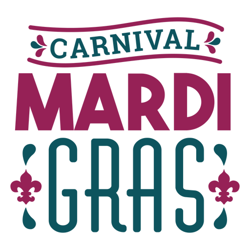 Letras de Carnaval Carnaval Transparent PNG