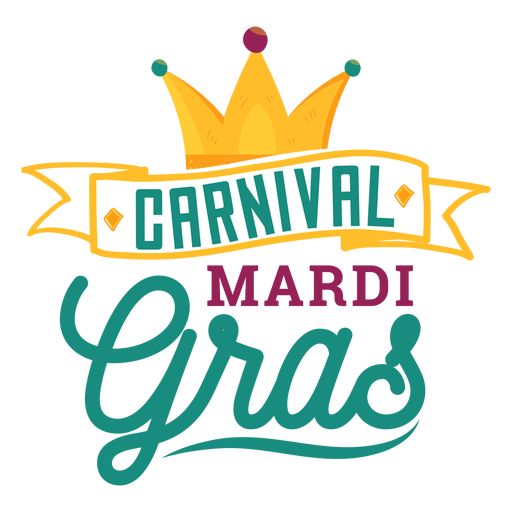Karneval-Karneval-Bandbeschriftung Transparent PNG