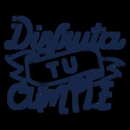 Disputa tu Cumple-Schriftzug
