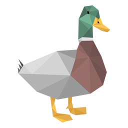 Duck low poly