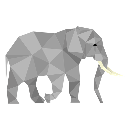 Elephant Side View Lowpoly Transparent Png Svg Vector File Elephant and rabbit illustration, watercolor painting drawing printmaking illustration, acrobatic elephant, white, mammal png. elephant side view lowpoly