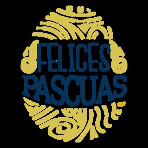 Letras de huevo de felices pascuas Transparent PNG