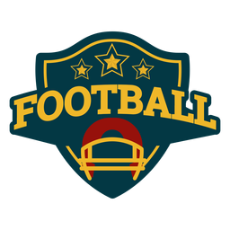 Football emblem badge