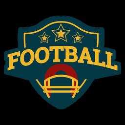 Fußball-Emblem-Abzeichen