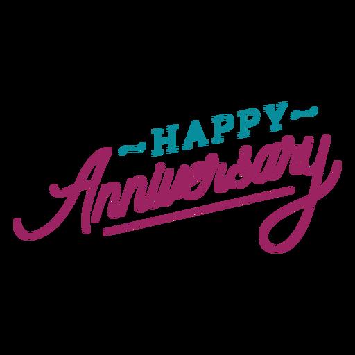 Letras de feliz aniversário Transparent PNG