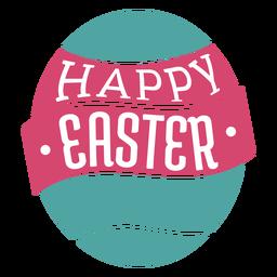 Frohe Ostern-Schriftzug