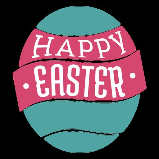 Letras de Páscoa feliz Transparent PNG