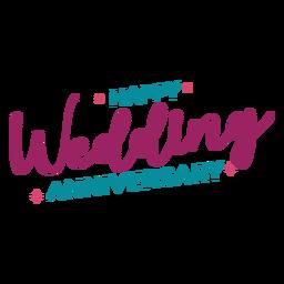 Letras de aniversario de boda feliz