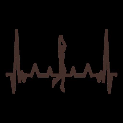 Latido del corazón con mermelada de baloncesto Transparent PNG