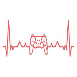 Batimento cardíaco com gamepad