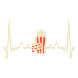 Heartbeat with popcorn