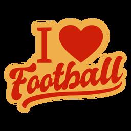 Adoro crachá de futebol