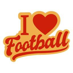 Me encanta la insignia de futbol