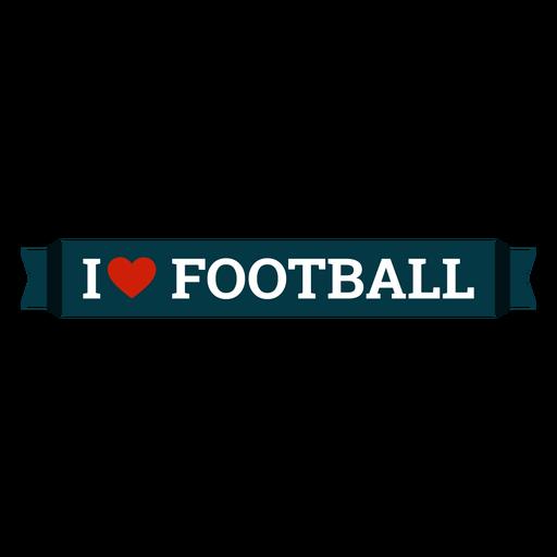 Eu amo letras de futebol Transparent PNG