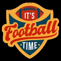 Sua rotulação de tempo de futebol