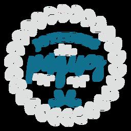 Joyeuses Paques-Schriftzug