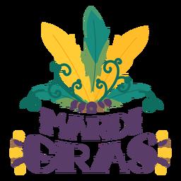 Mardi Gras Carnaval penas letras