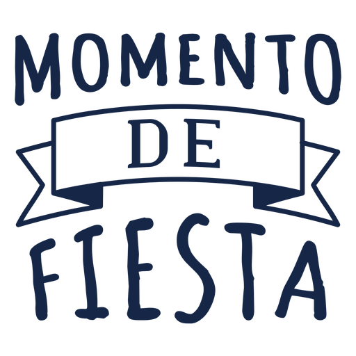 Letras de Momento de fiesta Transparent PNG