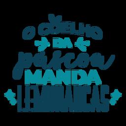 Pascoa manda lembrancas lettering