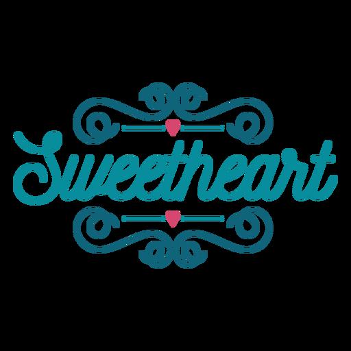 Letras de amor Transparent PNG