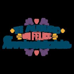 Letras de Ti Auguro Un Felice Anniversario.