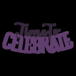 Zeit, die Schrift zu feiern
