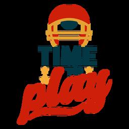 Zeit, um Buchstaben zu spielen
