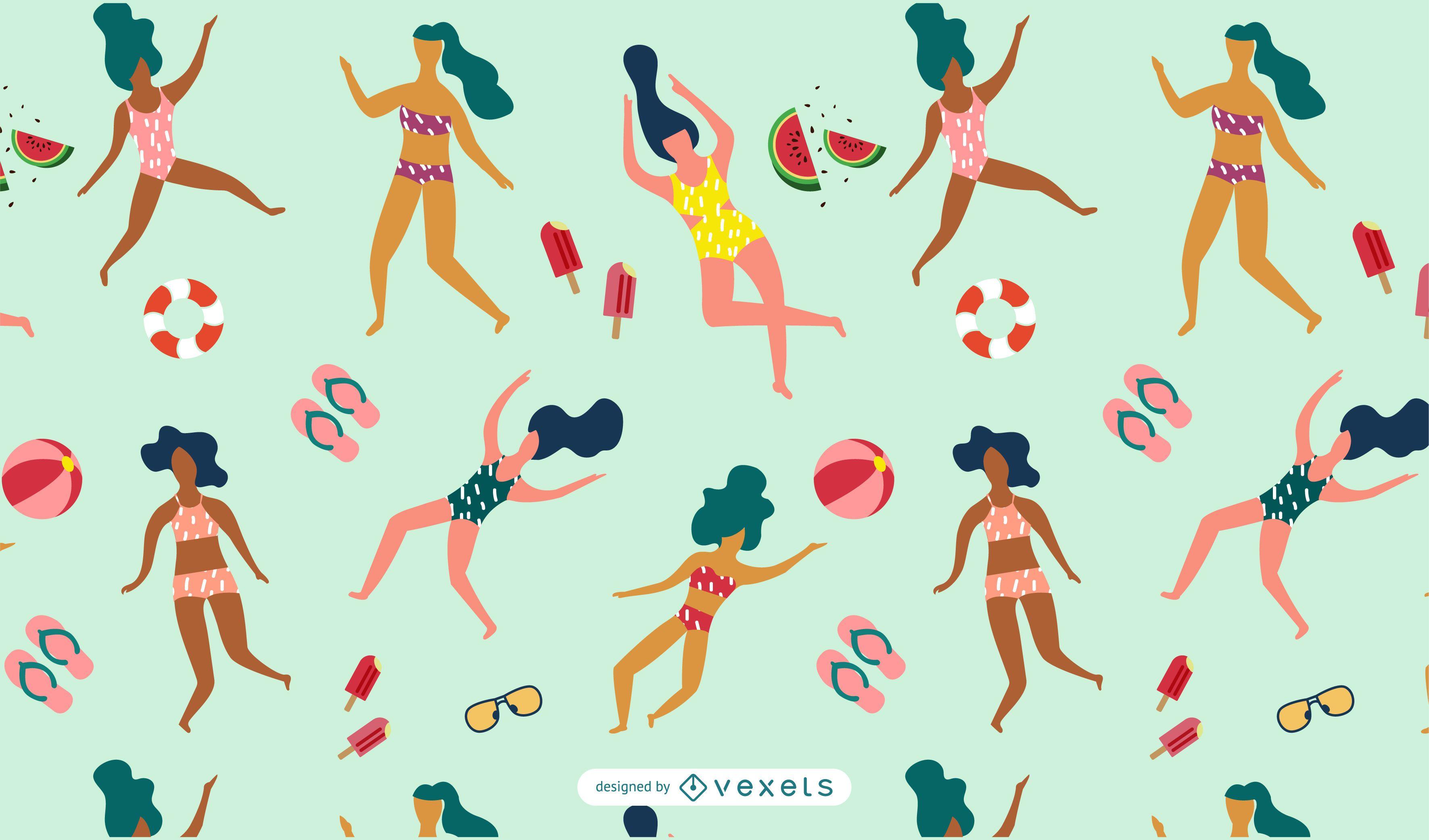 Summer Women Pattern
