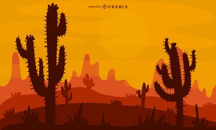 Desert Illustration Design
