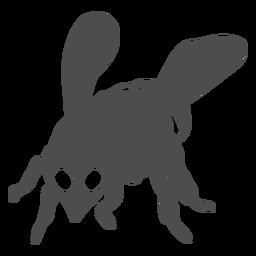 Bienenwespenflügel-Streifenschattenbild