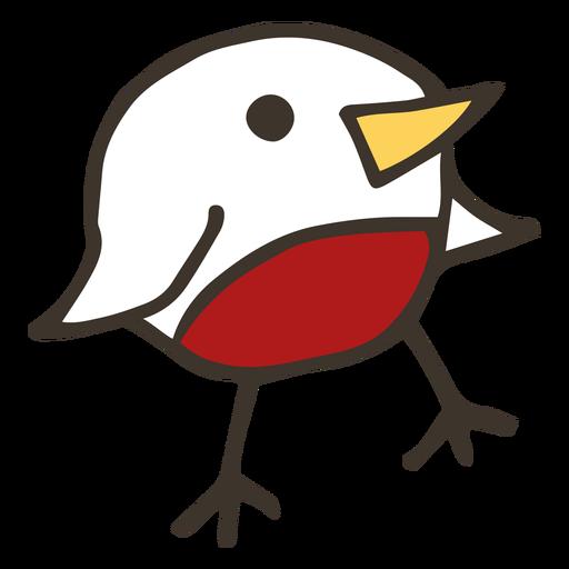 Chicken beak wing sketch Transparent PNG