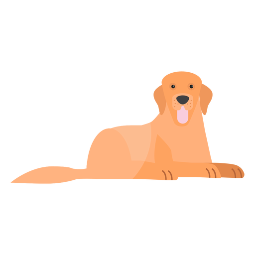 Dog puppy tongue tail ear flat Transparent PNG