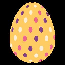 Egg easter painted easter egg easter egg oval pattern flat