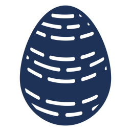Ei Ostern gemaltes Osterei Osterei Muster strich Linie Schattenbild