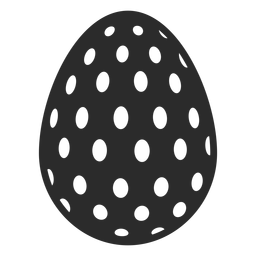 Egg easter painted easter egg easter egg pattern oval spot silhouette