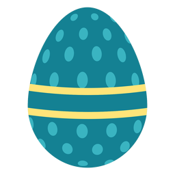 Egg easter painted easter egg easter egg pattern oval stripe flat