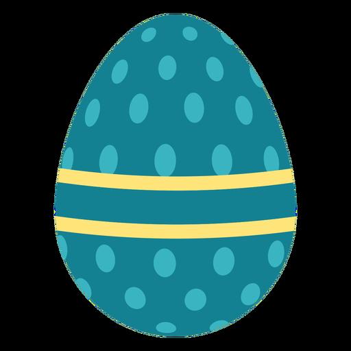 Egg easter painted easter egg easter egg pattern oval stripe flat Transparent PNG