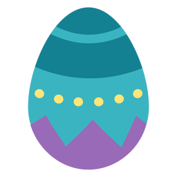 Egg easter painted easter egg easter egg pattern spot flat