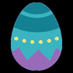 Huevo pascua pintado huevo de pascua huevo de pascua patrón plano