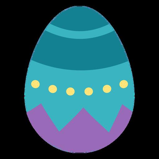 Egg easter painted easter egg easter egg pattern spot flat Transparent PNG