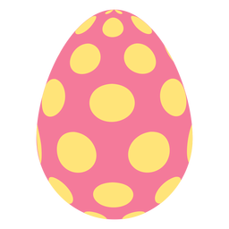 Egg easter painted easter egg easter egg pattern spot oval flat