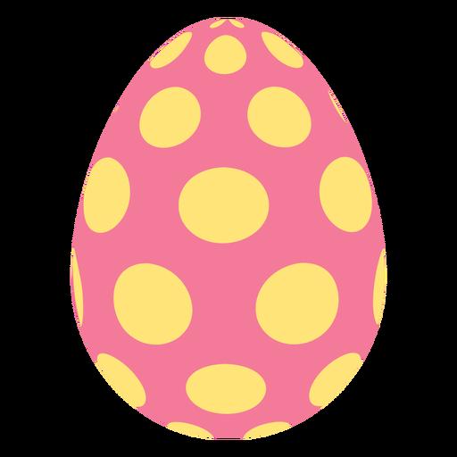 Huevo de Pascua pintado huevo de Pascua huevo de Pascua patrón punto oval plana Transparent PNG