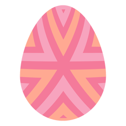 Egg easter painted easter egg easter egg pattern stripe flat