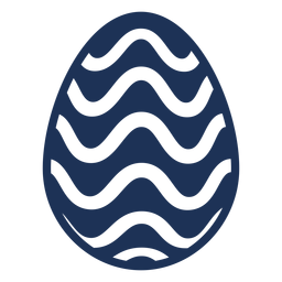 Egg easter painted easter egg easter egg pattern wave silhouette