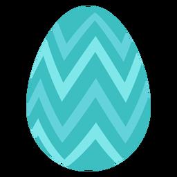 Ovo, páscoa, pintado, páscoa ovo ovo páscoa, padrão, ziguezague, apartamento