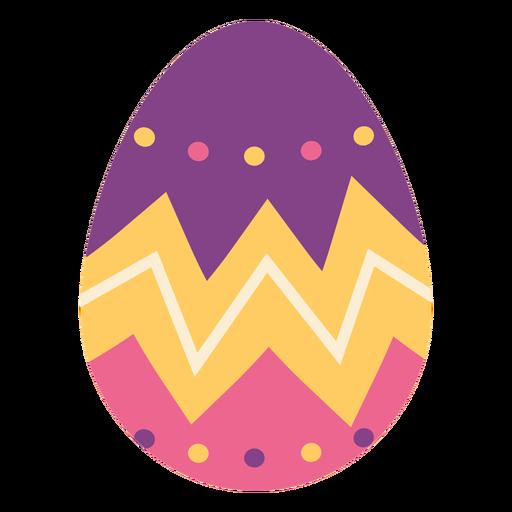 Egg easter painted easter egg easter egg pattern zigzag spot flat