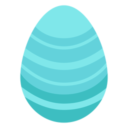 Egg easter painted easter egg stripe easter egg pattern flat